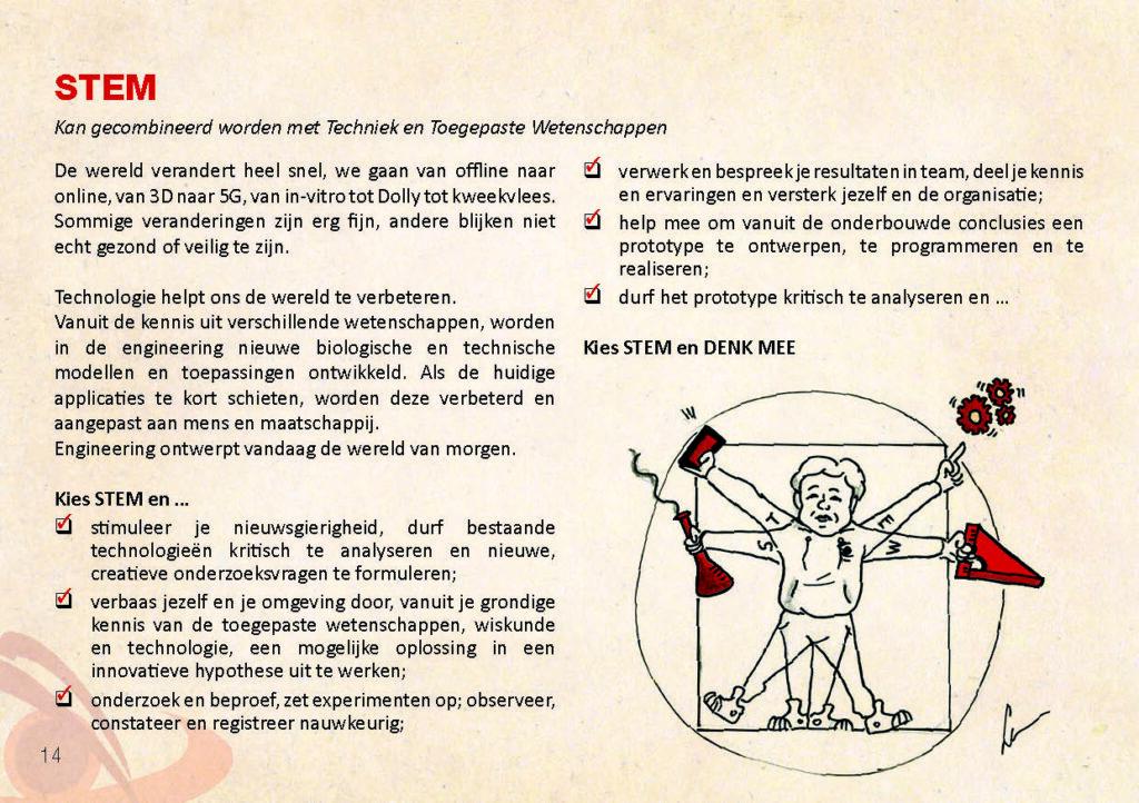 Brochure Sint-Catharinacollege STEM