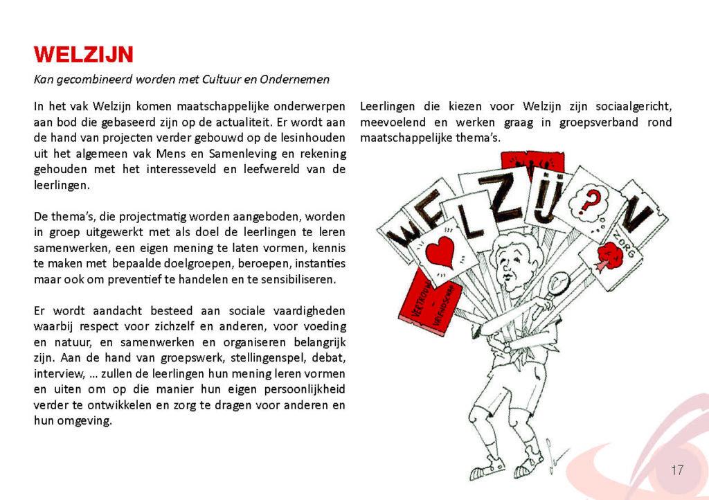 Brochure Sint-Catharinacollege Welzijn